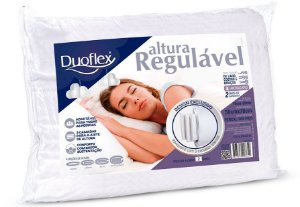 Travesseiro Nasa Altura Regulavel 50x70x20 Duoflex
