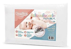 Travesseiro Nasa Baby Antissufocante 30x40x4 Duoflex