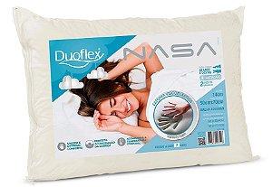 Travesseiro Nasa Viscoelastico 50x70x14cm Duoflex