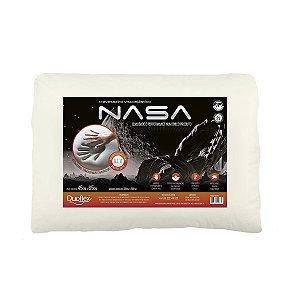 Travesseiro Nasa X Viscoelástico 45x65x10cm Duoflex