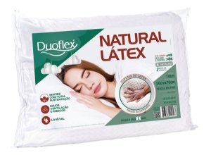 Travesseiro Natural Latex 50x70x14 Duoflex