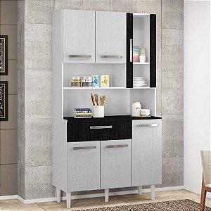 Armário de Cozinha 6 Portas Cancun II Incorplac