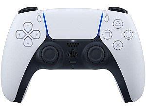 Controle para PS5 sem Fio DualSense Sony - Branco