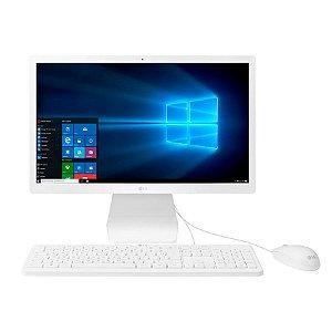 Desktop All in One LG 21'5'' Full HD IPS, Intel Celeron, 500GB - 22V280-L.BY31P1