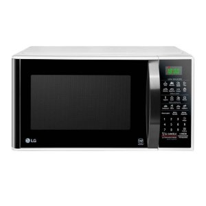 Forno Micro-ondas LG, 30 Litros, EasyClean, Branco - MS3091BC