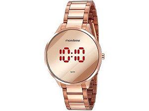 Relógio Feminino Mondaine Digital - 32060LPMVRE2 Rosê Gold