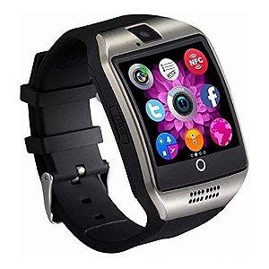 Relógio Smartwatch Q18 Chip iPhone Samsung LG