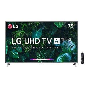Smart TV Ultra HD LED 75'' LG, 4K, 4 HDMI, 2 USB - 75UN8000