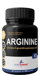 Arginina UP 100% Pure - Precursor do GH - 60 Cápsulas