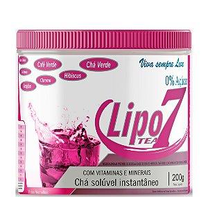 Lipo 7® Chá com 7 Emagrecedores Na Fórmula Patenteada - 200g