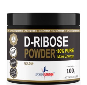 D- Ribose Power 100% Pure - 100g