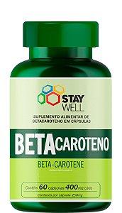 Betacaroteno 400mg - 60 Cápsulas