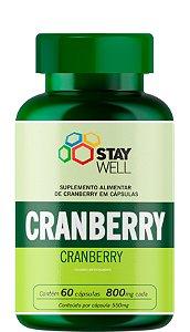 Cranberry 800mg - 60 cápsulas