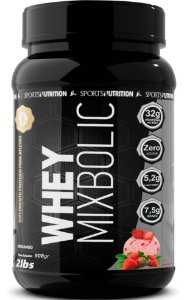 Whey Protein Mix Bolic - 32g de Proteína por dose - 908g