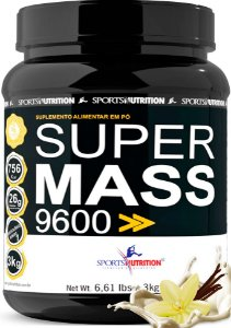 Hipercalórico Super Mass 9600 - 3kg