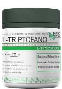 L-Triptofano Melatonine em pó – 70g
