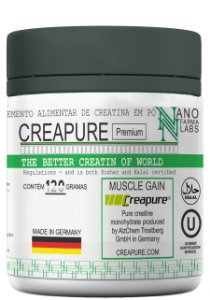 Creapure® Premium Monohidratada em pó – 120g
