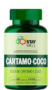 Óleo De Cártamo + Óleo De Coco - 60 Cápsulas