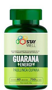 Guaraná Energy 750mg - 90 Cápsulas