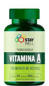 Vitamina A 400mg - 45 Cápsulas