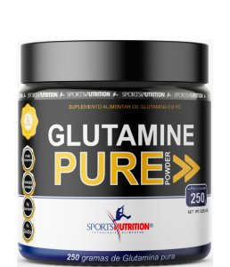 Glutamina Pure Powder Max Imunidade E Massa Muscular