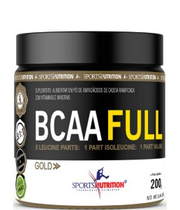 Bcaa Full Gold 5:1:1 Concentrado - 200g