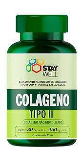 Colágeno Tipo II - Não Hidrolisado - 30 cápsulas