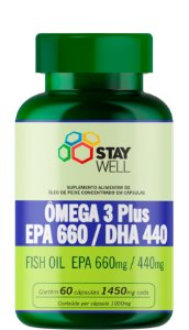 Ómega 3 Plus EPA 660 / DHA 440 - 60 cápsulas