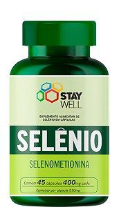 Selênio 400mg - 45 cápsulas