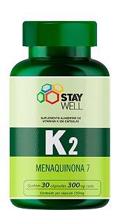 Vitamina K2 MK7 Menaquinona 7 - 30 cápsulas