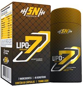 Lipo 7 Revolution Extra Forte - Eleito O Melhor Emagrecedor - 60 Cápsulas