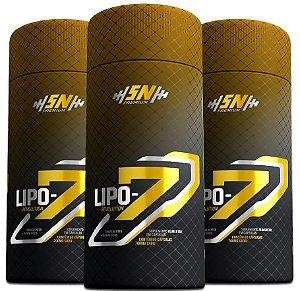 Lipo 7 Revolution Extra Forte - Eleito O Melhor Emagrecedor - Leve 3 pague 2