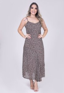 3750086-Vestido Longo Crepe