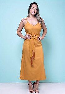 3750123-Vestido Longo  Crepe
