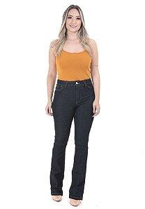 1758461-Calça Hot Pant Boot Cut Jeans