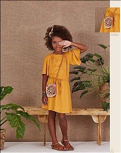 5750000-Vestido Kids c/ Bolsa Crepe