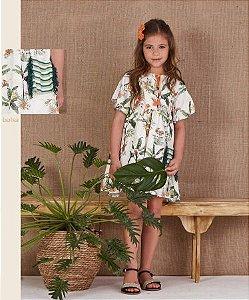 5750020-Vestido Kids c/ Bolsa Viscose