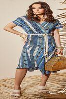 6750014-Vestido Midi Linho