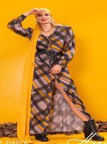 6750036-Vestido Longo Viscose