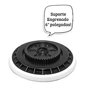 "SUPORTE ENGRENADO 6"" P/ POLITRIZ EXS KERS"