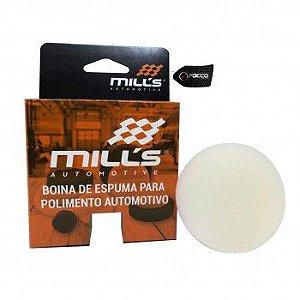 Boina de Espuma Branca Agressiva Lisa 2'' Mills