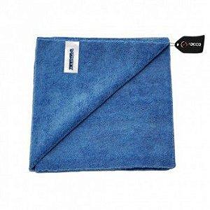 Toalha de Microfibra 40x40 350gsm Azul corte Laser Vonixx