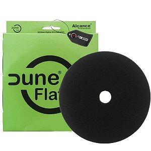 Boina De Espuma Flat C/ Furo Preta 5'' Dune