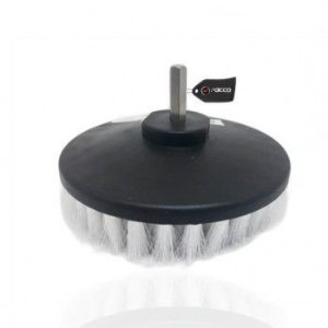 Escova de Limpeza Drill 5'' para Furadeira Suave Branca Kers