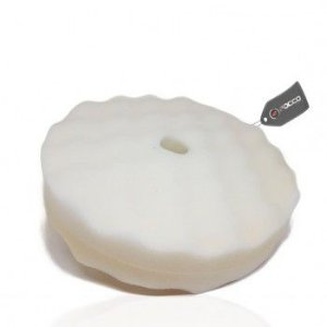 Boina de Espuma Branca Dupla Face 8'' Authentic