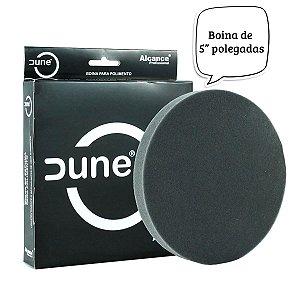 """BOINA DE ESPUMA PRETA 5"""" DUNE"""
