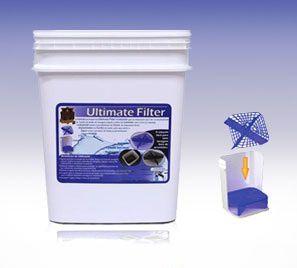 Ultimate Filter Separador de Partículas - Balde + Grelha