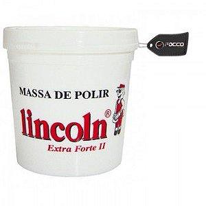 Massa de Polir Extra Forte II 1 Kg Lincoln