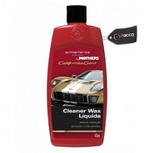 Cal Gold Carnaúba Cleaner Wax Líquida 473ml Mothers