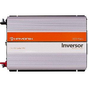 Inversor Hayonik 3000w 12v Para 220v Com Usb Onda Modificada